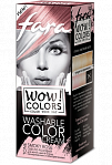 "Fara WOW Colors wash off cream dye ""Smoky Rose"" 80ml"