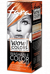 "Fara WOW Colors wash off cream dye ""International Orange"" 80ml"