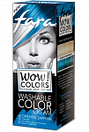 "Fara WOW Colors wash off cream dye ""Oriental Sapphire"" 80ml"