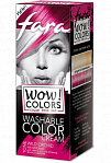"Fara WOW Colors wash off cream dye ""Wild Orchid"" 80ml"