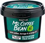 Beauty Jar MR. COFFEE BEAN - detoxifying face scrub, 50g