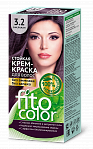 FITOCOSMETIC 3.2 Resistant cream hair dye (eggplant color), 115ml