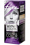 "Fara WOW Colors wash off cream dye ""Persian Indigo"" 80ml"