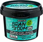 Beauty Jar BRAINSTORM - cleansing head skin scrub, 100g