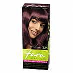 Fara Hair dye Fara Natural Colors № 324 dark ruby 160ml