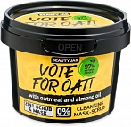 Beauty Jar VOTE FOR OAT! - Cleansing mask-scrub, 100 g
