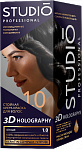 STUDIO 3D Long Lasting Colour Cream 3D HOLOGRAPHY 1.0 Black