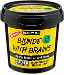 Beauty Jar BLONDE WITH BRAINS - shampoo for blond hair, 150g
