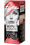 "Fara WOW Colors wash off cream dye ""Pink Flamingo"" 80ml"